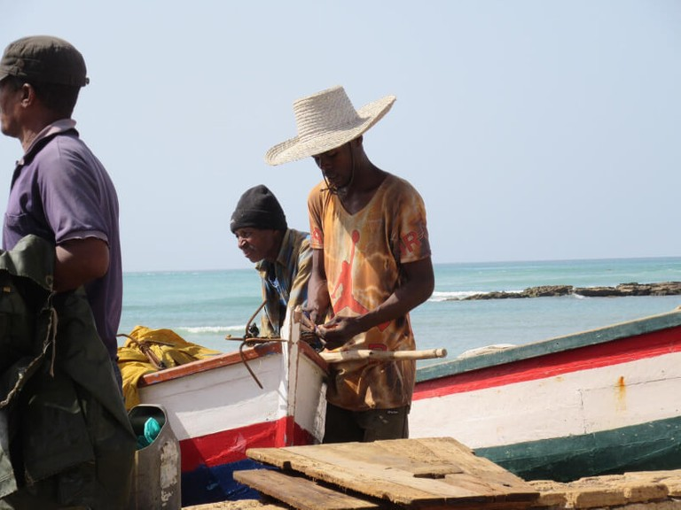 local cape verdean fishermen