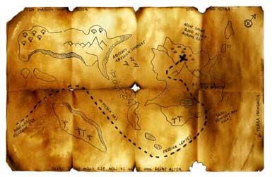cape verde treasure map