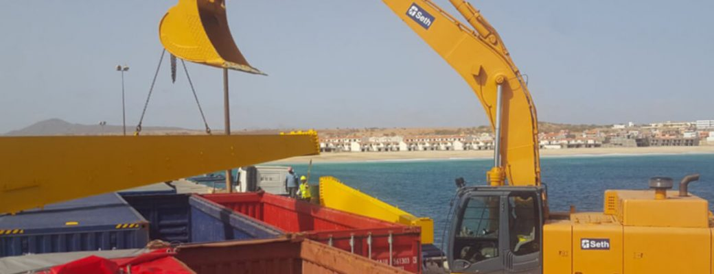 extension and modernisation of porto ingles in maio cabo verde