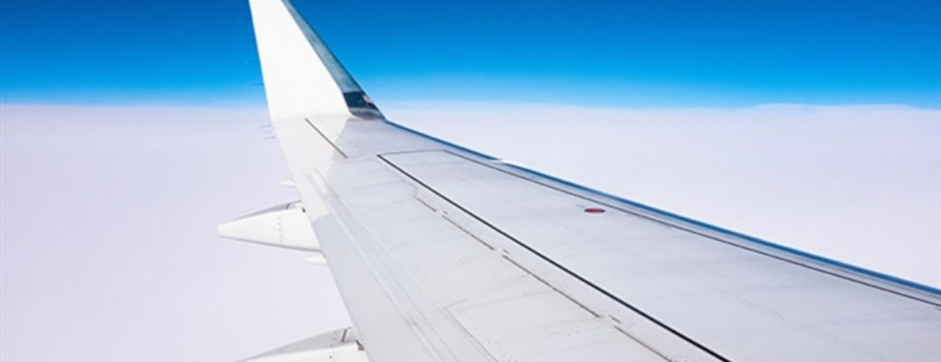 cabo verde connect services airplane wing in the sky