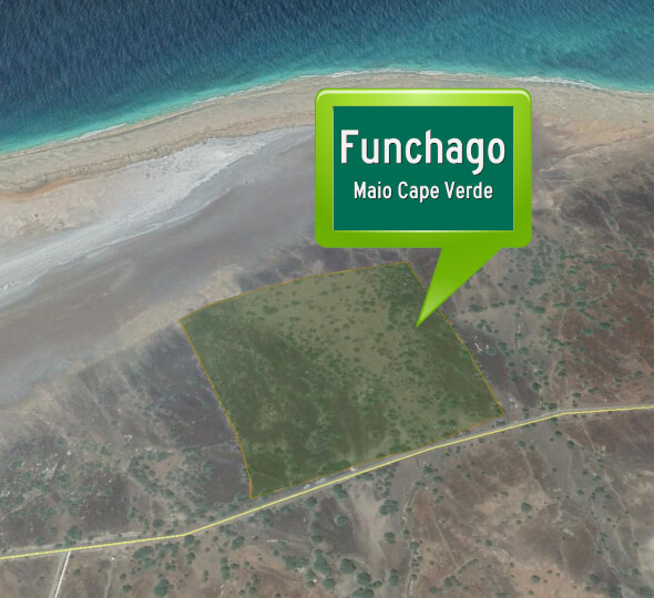 aerial view investor partner wanted for land property resort maio cape verde